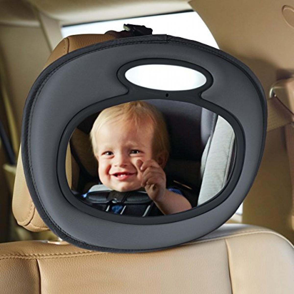 Brica Night Light Musical Baby In Sight Car Mirror Car