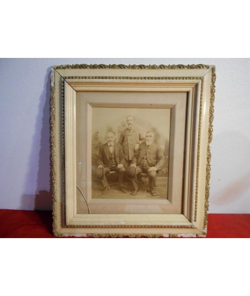 Antique Photo & Frame