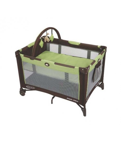 Graco Pack 'n Play On The Go Playard Go Green