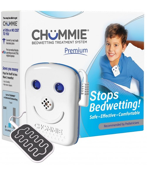 Chummie Premium Bedwetting Alarm with 8 Tones- Blue