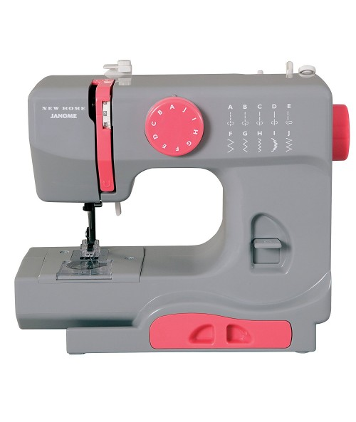 Janome Graceful Gray Basic, Compact Sewing Machine