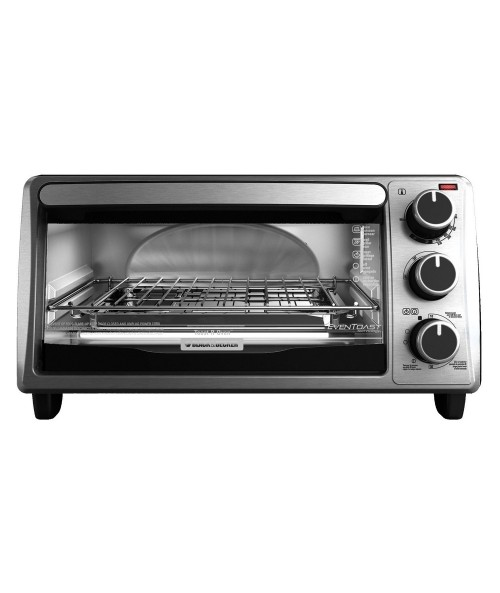 BLACK+DECKER TO1303SB 4-Slice Toaster Oven