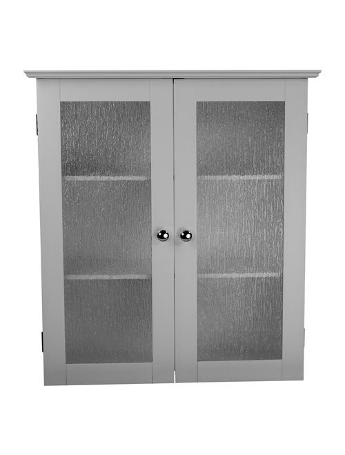 Elegant Home Fashions Connor 2 Door Wall Cabinet