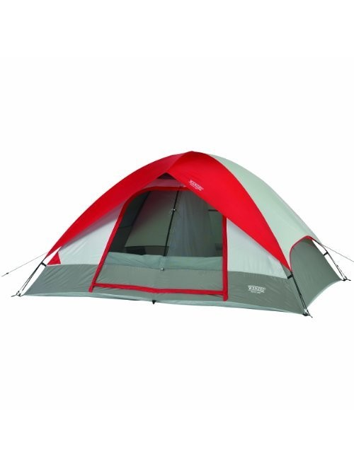 Wenzel Pine Ridge 10x8 Foot, 4-5 Person 2-Room Dome Tent