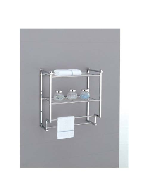 Metro 2-Tier Wall Mounting Rack