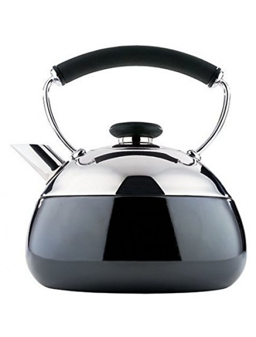 Copco Fusion 2-Quart Polished Stainless Steel Teakettle