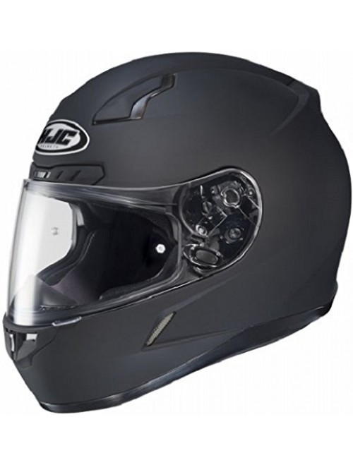 HJC CL-17 Full-Face Motorcycle Helmet (Matte Black, Small)