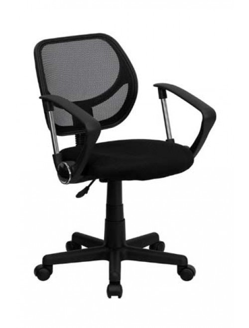 Flash Furniture WA-3074-BK-A-GG Chair