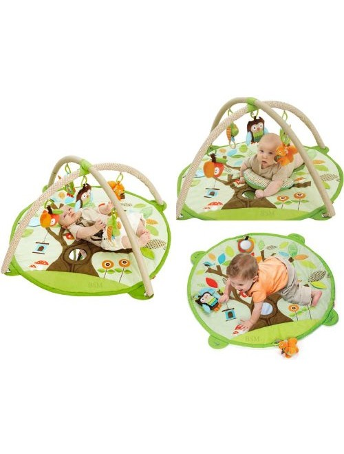 Skip Hop Baby Infant and Toddler Treetop Friends Activity Gym