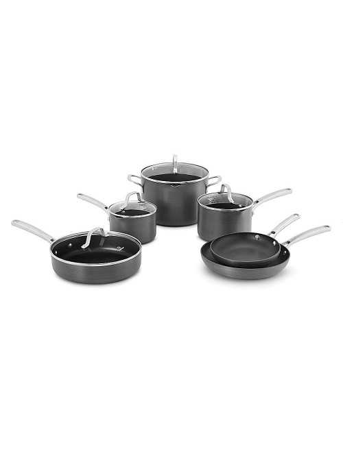 Calphalon 10 Piece Classic Nonstick Cookware Set, Grey