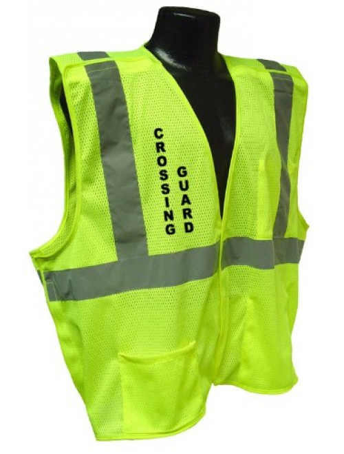 Radians Cl 2 Mesh Breakaway Crossing Guard Safety Vest