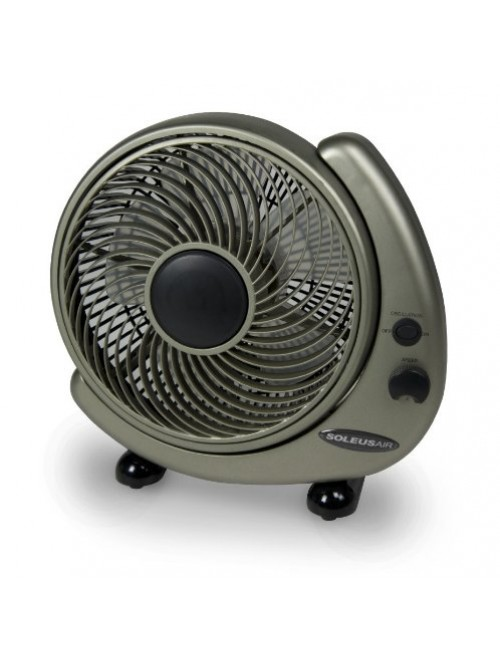 "Soleus Air 10"" High Velocity Wall Mount/Table Fan"