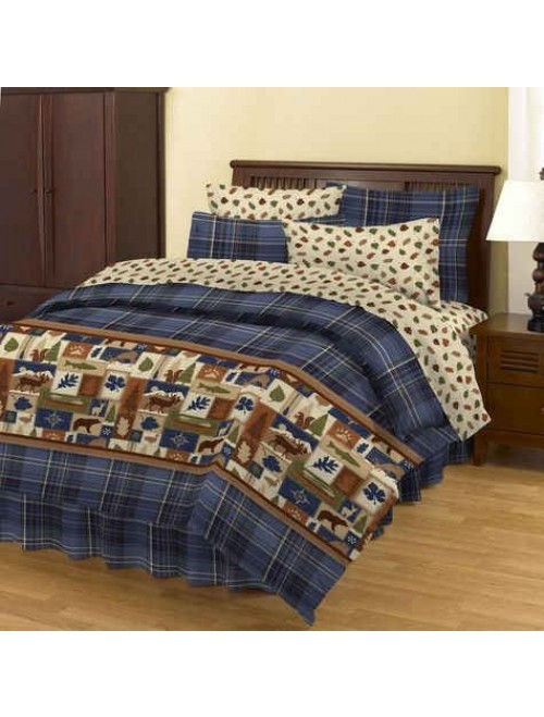 NorthCrest Pine Hill Complete Bed Ensemble
