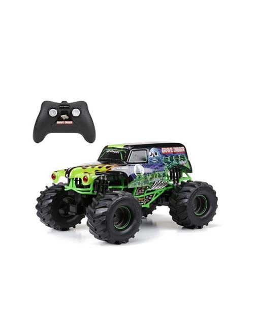 New Bright 61030G 9.6V Grave Digger RC