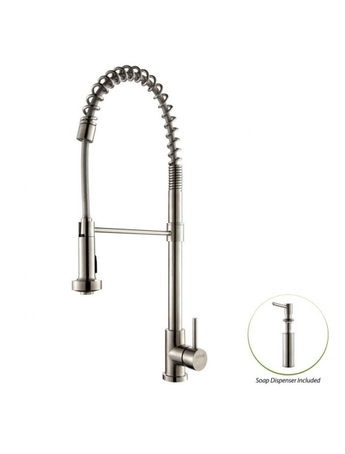 Zuhne Stainless Kitchen Faucet