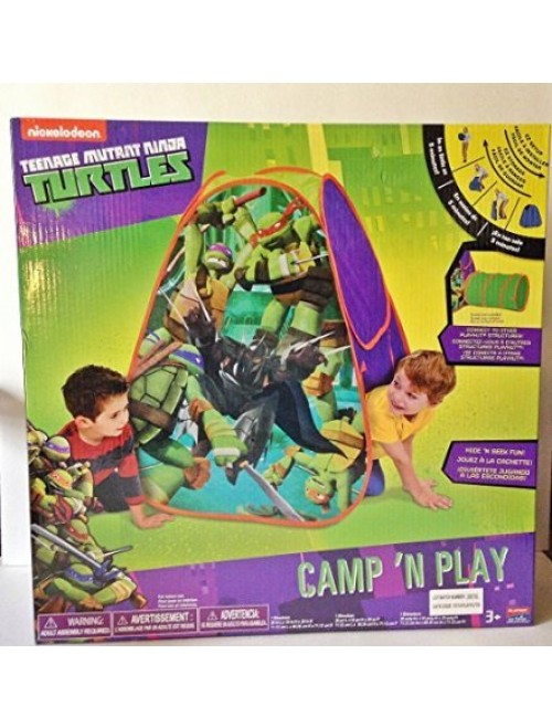 Teenage Mutant Ninja Turtles Camp n' Play Hut Tent