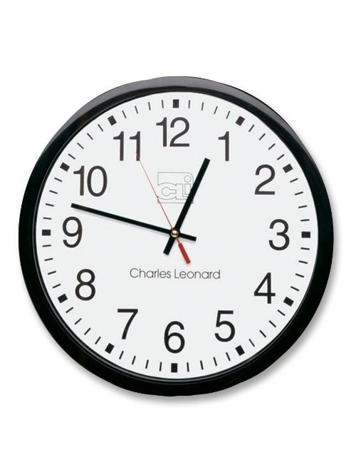 CLI Wall Clock - Analog - Quartz