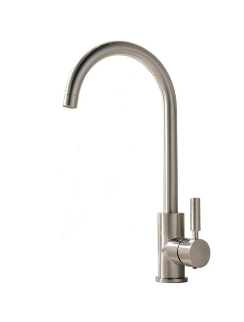 Comllen Brushed Nickel Stainless Steel Kitchen Faucet