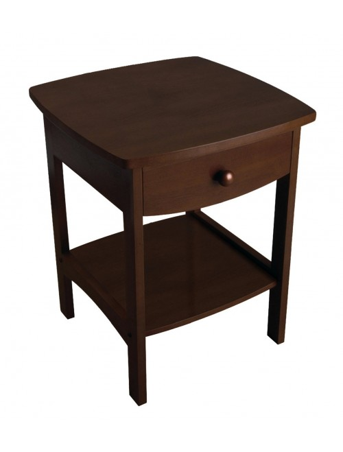 Winsome Walnut Wood Accent Table