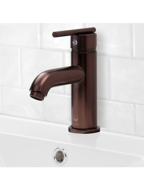 VIGO Setai Single Lever Basin Bathroom Faucet