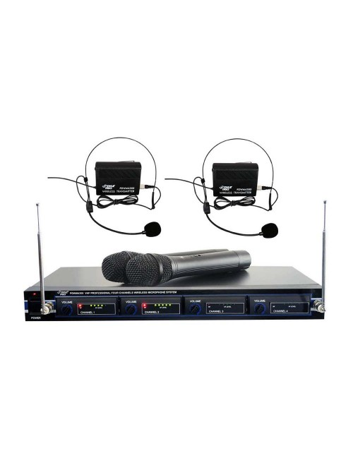 Pyle PDWM4300 VHF Wireless Microphone System