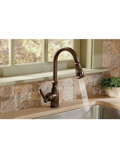 Moen 7185ORB Brantford Kitchen Faucet