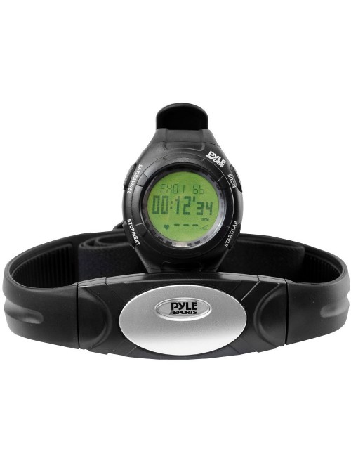Pyle PHRM28 Advanced Pedometer with Heart Rate Monitor