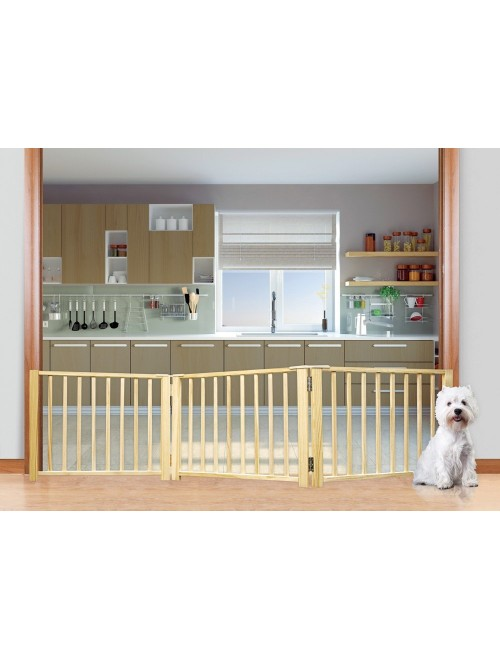Four Paws Folding Panel Gate