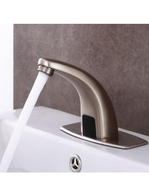 Fyeer Automatic Sensor Touchless Bathroom Sink Faucet