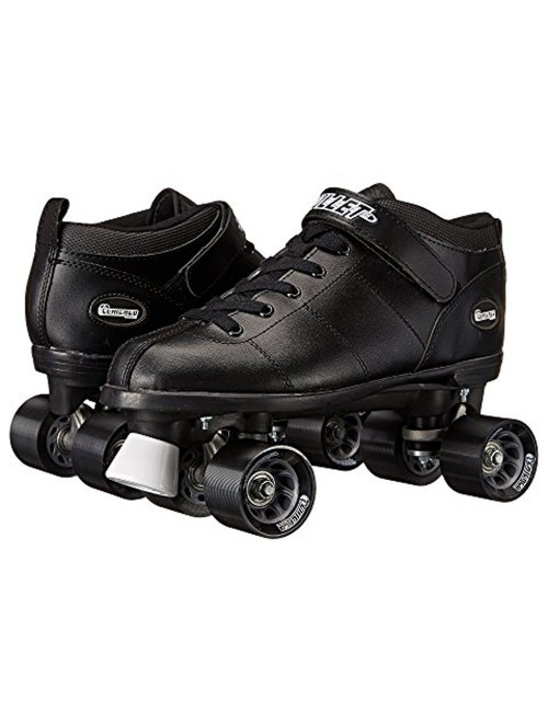 Chicago Bullet Men's Speed Roller Skate - Black