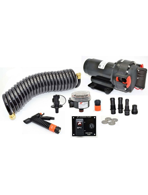 Johnson Pumps 12V Aqua Jet 3.5 Wash Down Kit