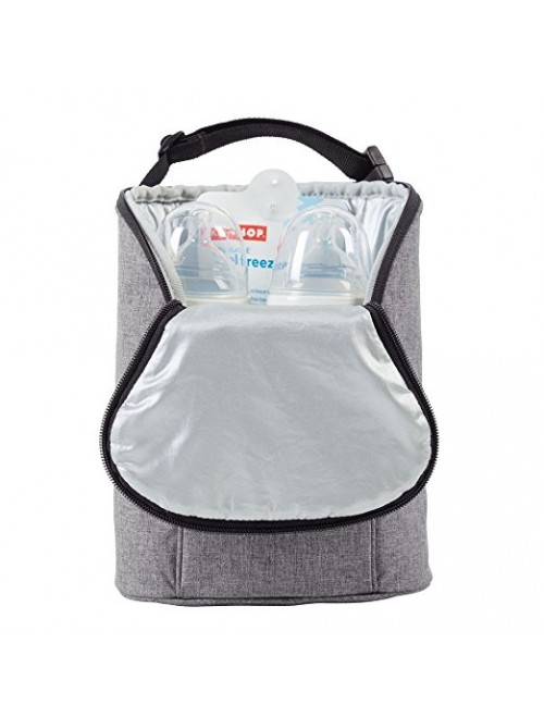 Skip Hop Grab-and-Go Insulated Double Bottle Bag