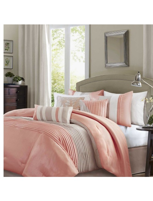 Madison Park Elegant Stylish Premium Quality Amherst Coral