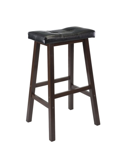 Winsome Mona 29-Inch Cushion Saddle Seat Stool