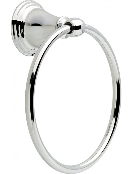 Delta Towel Ring, Polished Chrome