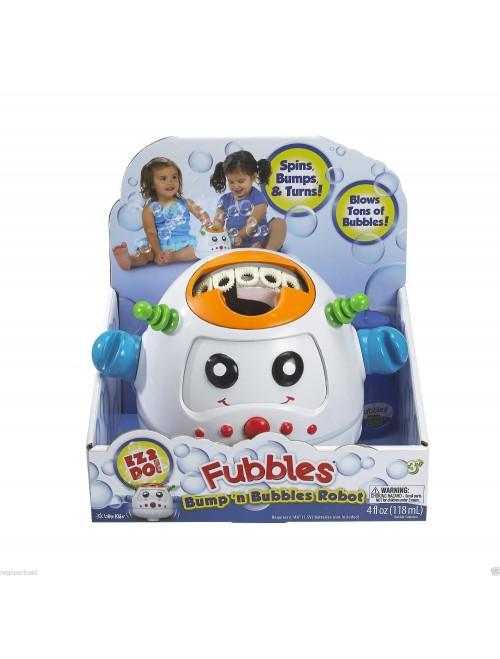 Fubbles Bump 'n and Bubble Robot