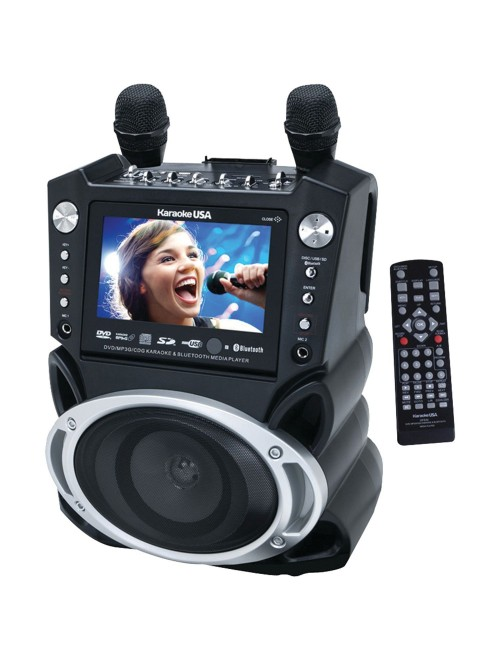 "Karaoke USA System with 7"" TFT Color Screen"