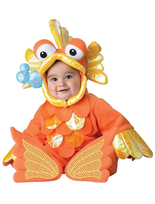 Baby's Giggly Goldfish Costume