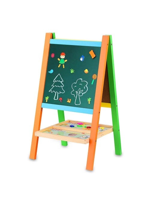 BATTOP Multifunctional Drawing Board Kids Easel