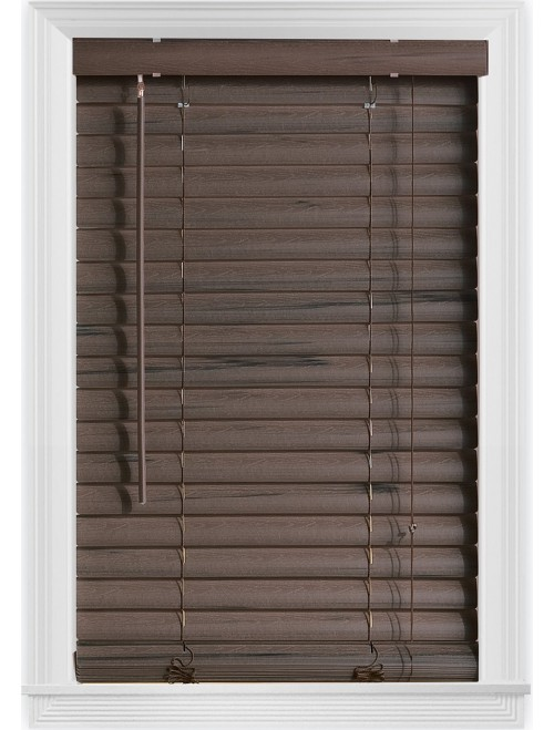 "Bali Blinds 2"" Vinyl Corded, 23x64"""