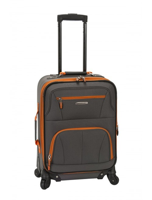 Rockland Luggage 19 Inch Expandable Spinner Carry On