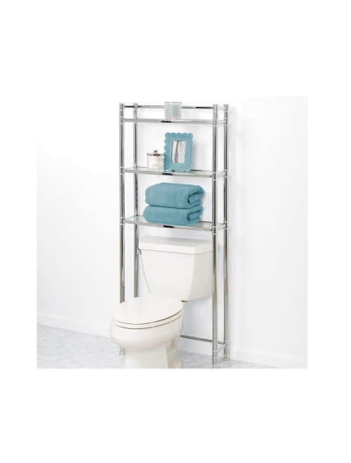 Zenna Home 9035SS Bathroom Spacesaver Shelf
