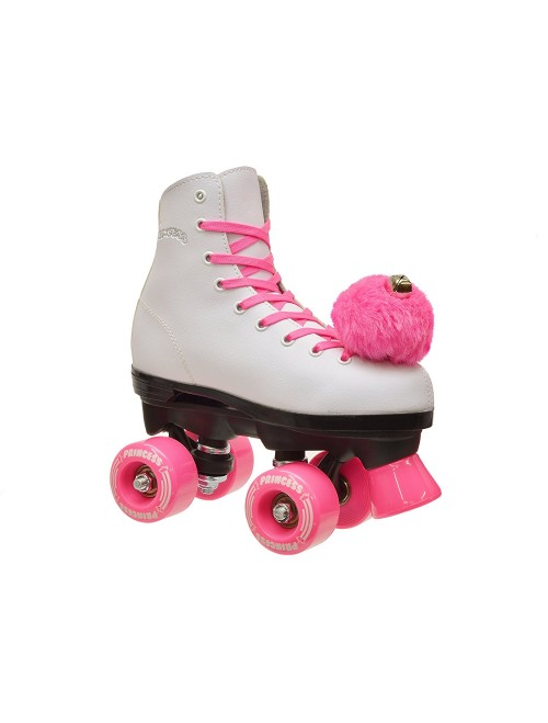 Epic Skates Pink Princess Girls Quad Roller Skates