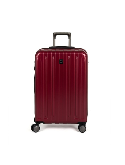 "Delsey Luggage Helium Titanium 25"" Expandable Spinner Trolley"