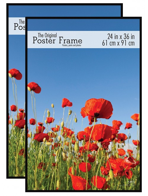 Original Poster Frame, Black, 2-Pack