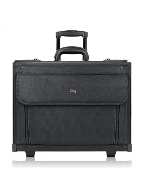 "SOLO Classic 17.3"" Laptop Rolling Catalog Case"