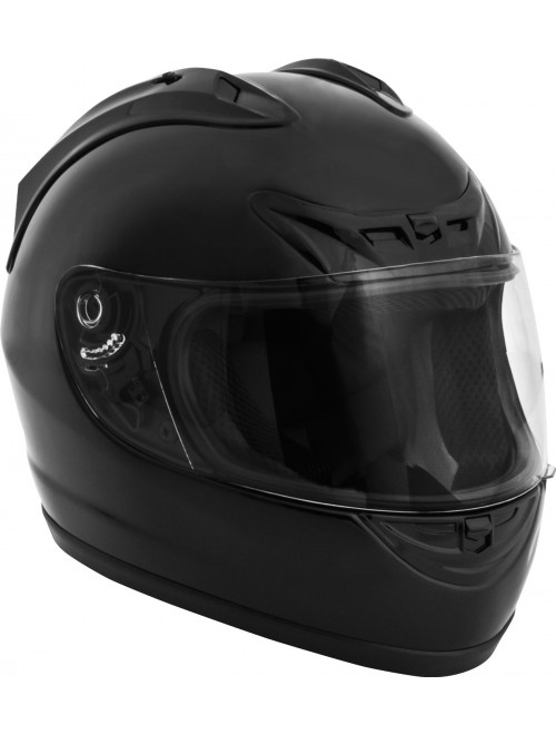 Fuel Helmets Full Face Helmet, Gloss Black