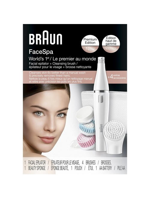 Braun Face 851 Women's Miniature Epilator