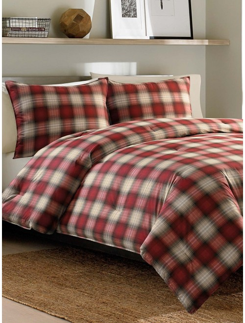 King Comforter Set Eddie Bauer Navigation Plaid