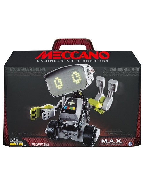 Meccano-Erector M.A.X Robotic Interactive Toy with Artificial Intelligence